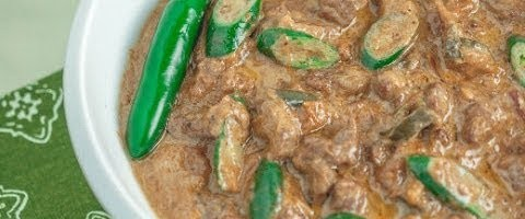 Cooking Beef Bicol Express