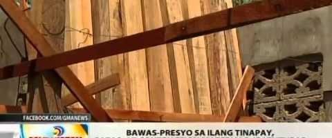 Pamasahe sa Jeep at ibang Bilihin ibababa [Bicol Region]